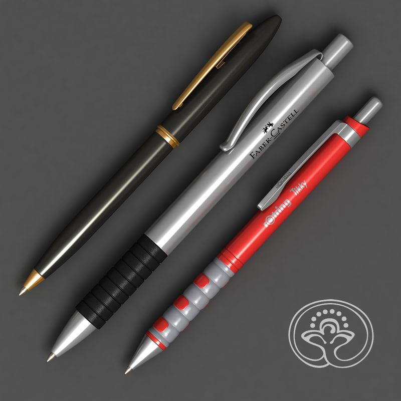 Pen A