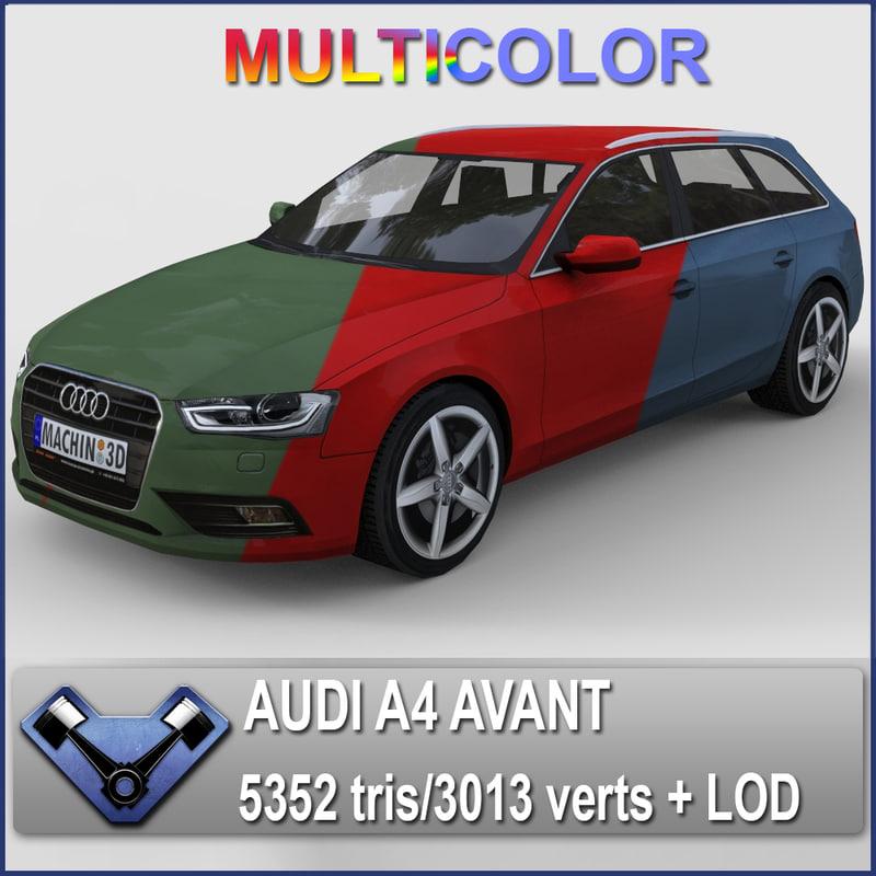 Audi A4 Avant (Multicolor)