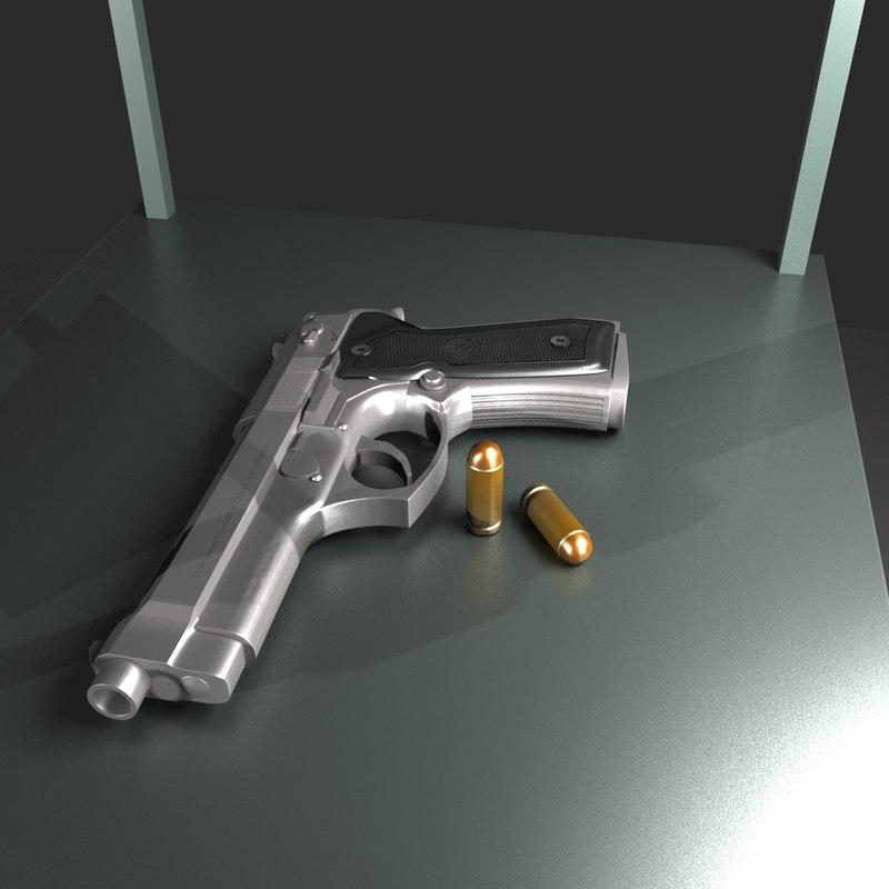 Beretta M9 (HQ) (LQ)