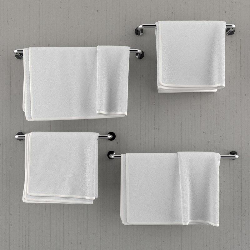 Hanging Towels In Bathroom