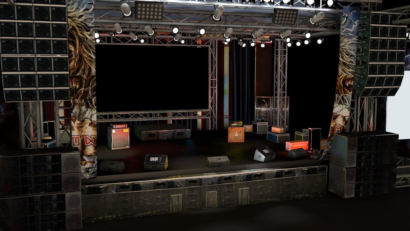 stage floor 3d - photo #29