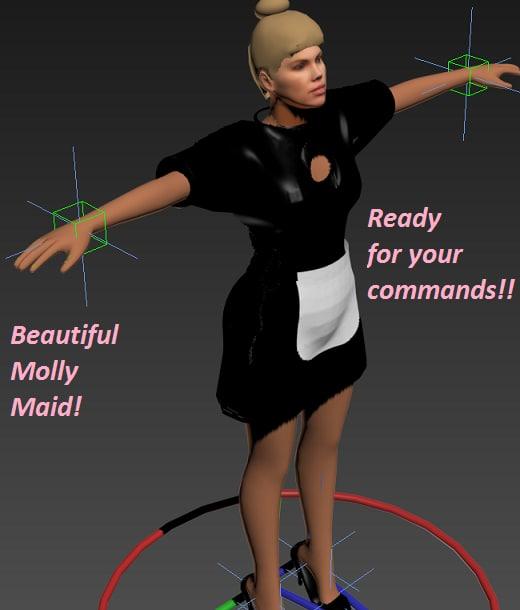 max meet molly beauty