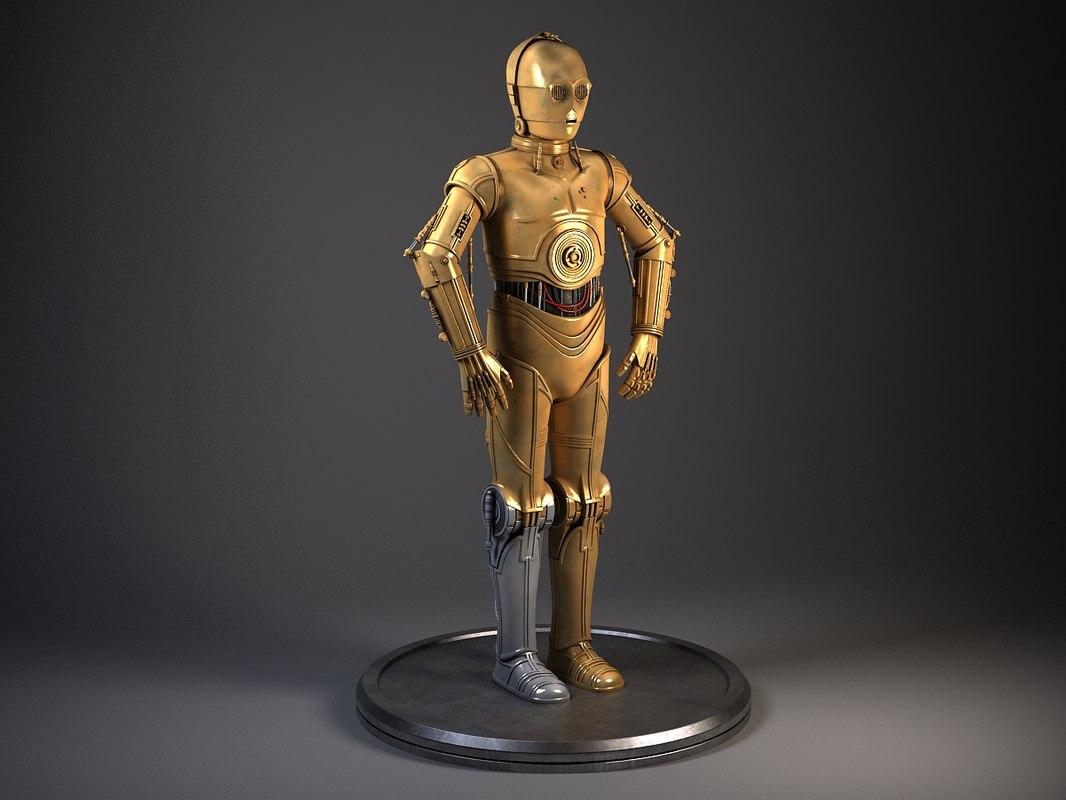 C3PO Star Wars Droid Robot