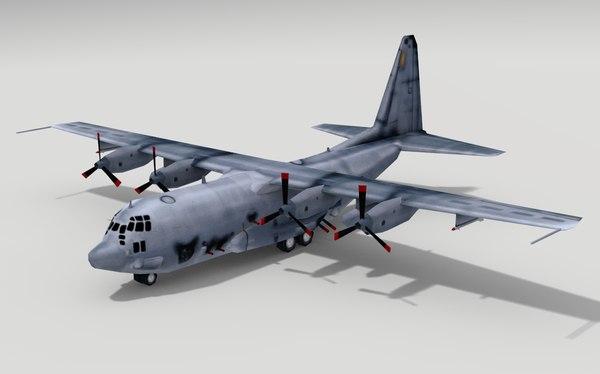 AC-130A Spectre 3D Models