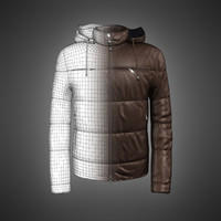 down coat 3D models