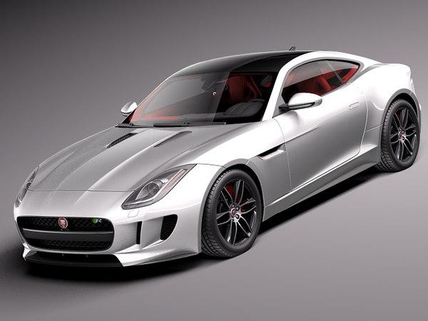 Jaguar F-Type R Coupe 2015 3D Models