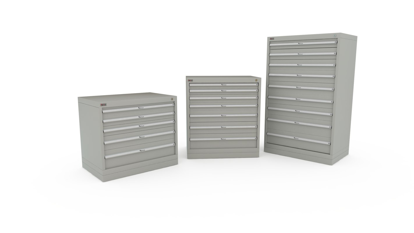 3d me 3105 3205 3405 tool storage chest model