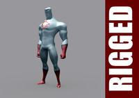 captain atom 3D models