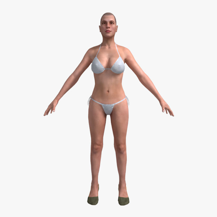 Female_01 (Not Rigged)