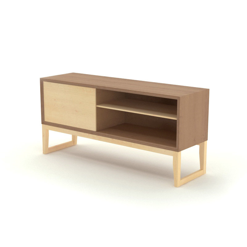 Free bauhaus sideboard 3d model for Sideboard 3d
