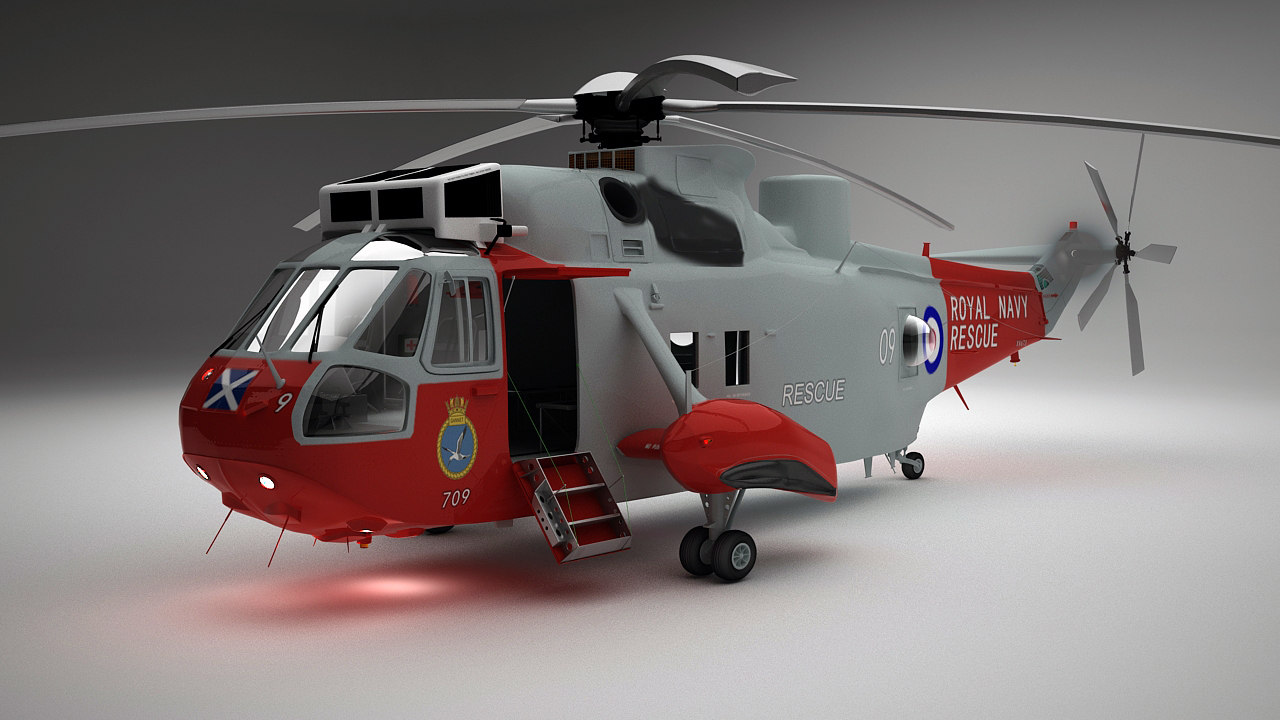 Westland Sea King HU5(Sikorsky)