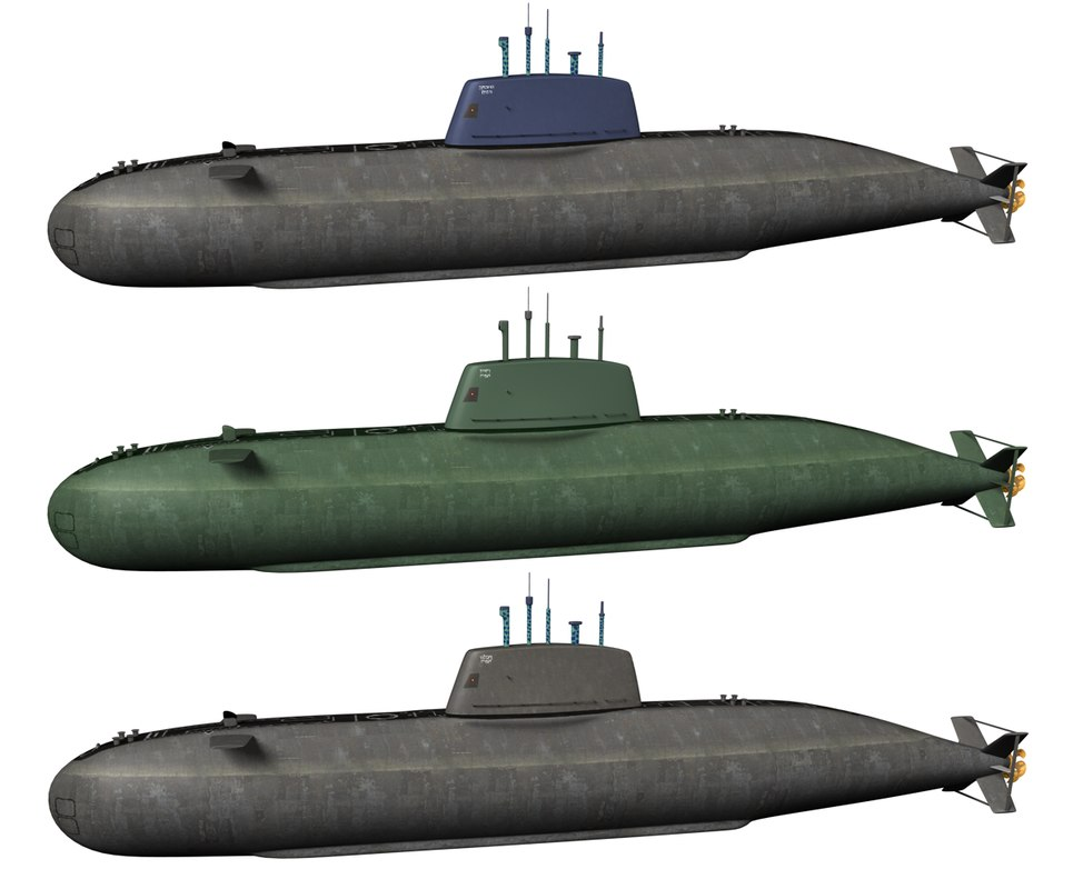 Dolphin submarine set 3D model by Andreas Piel.bmp