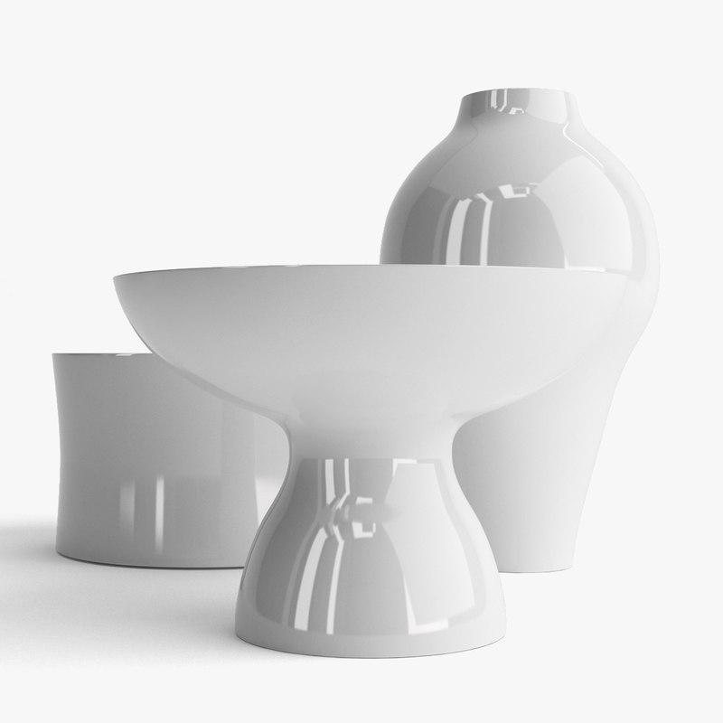 Marcel Wanders Contemporary Ceramic Vases