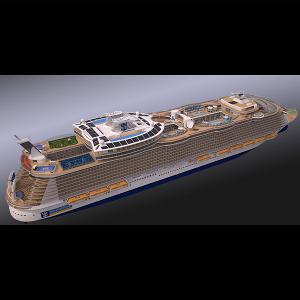 Oasis of the Seas 3D Models