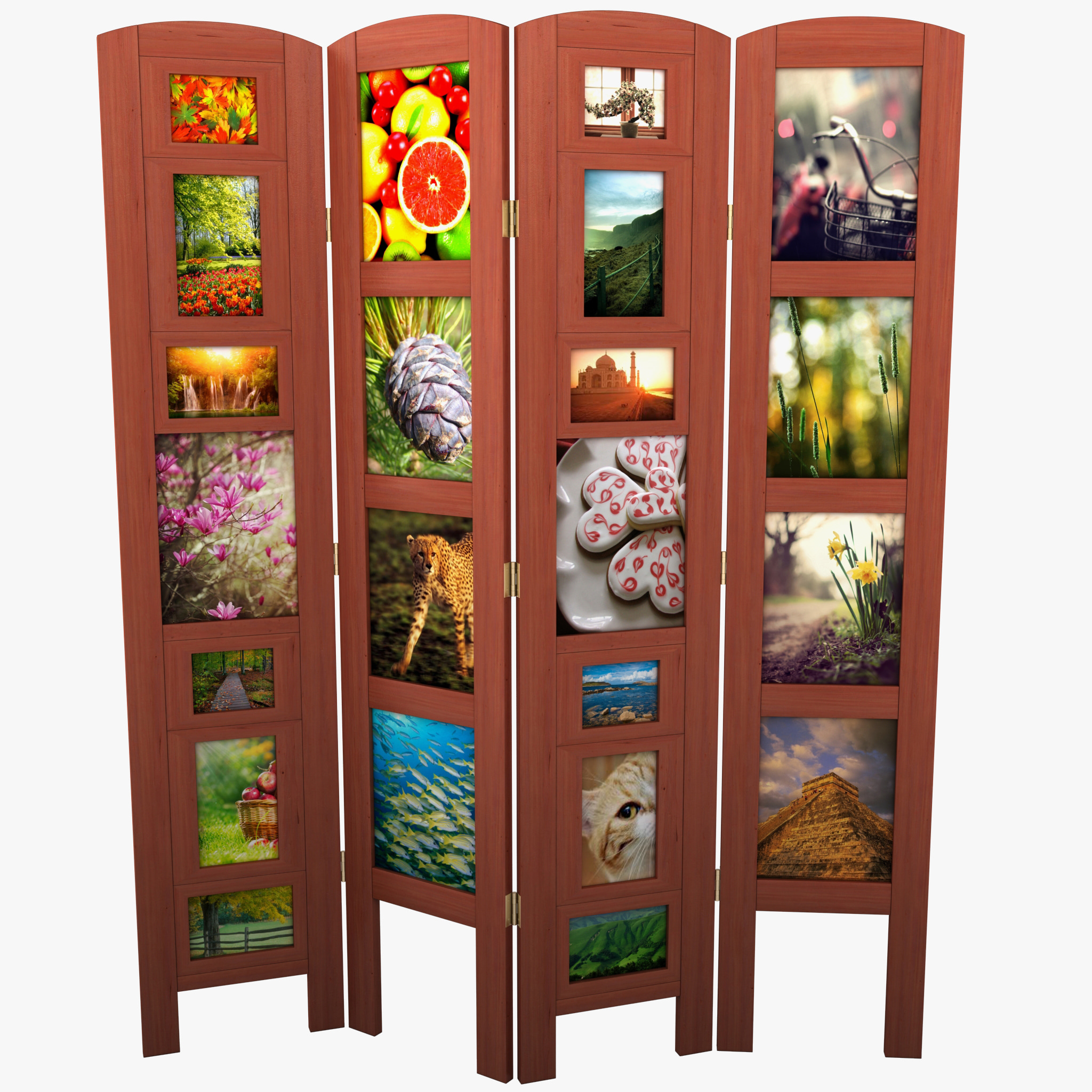 Photo frame room divider 3d model - Room divider picture frames ...