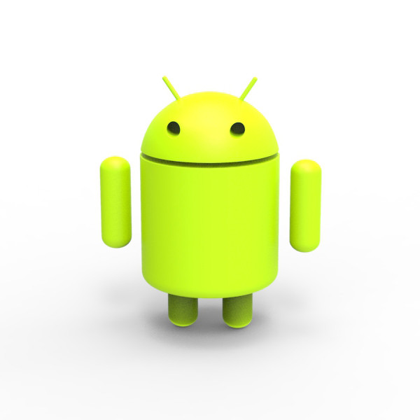 The gallery for --> Android Logo 3d