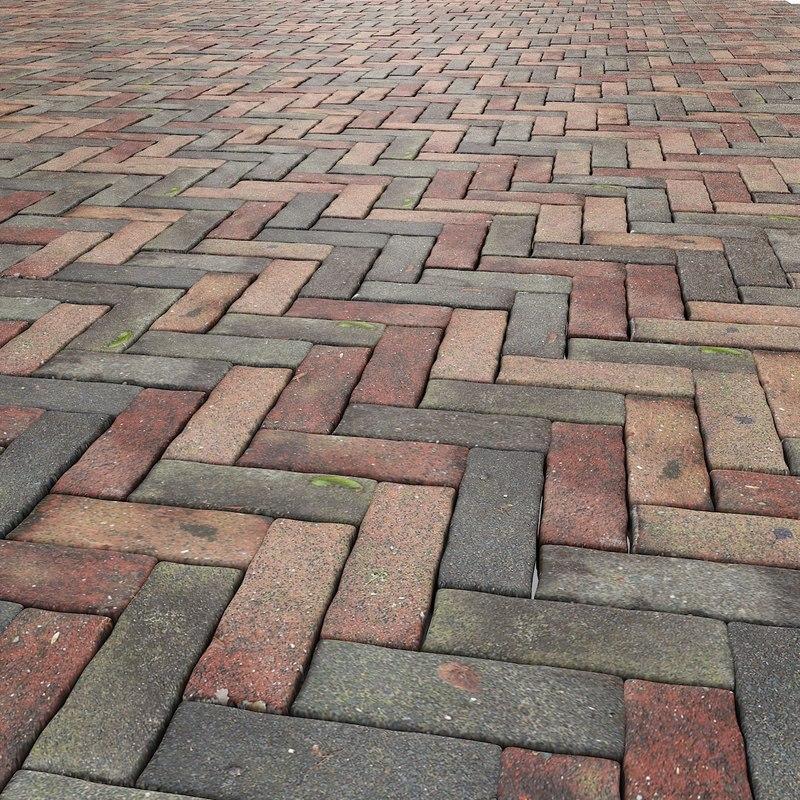 3d max stone pavement floor for Max floor