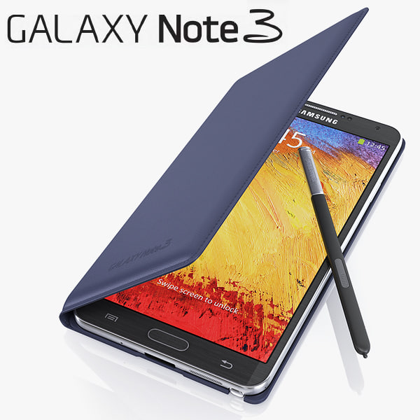 Samsung Galaxy Note 3 Cover 3D Models