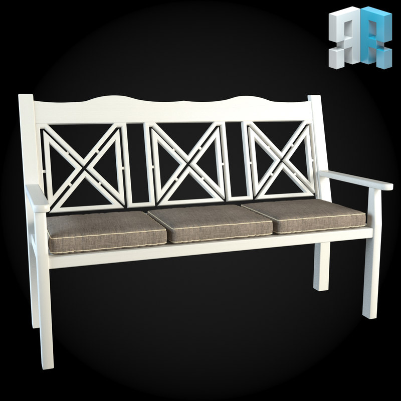 Furniture garden 3d max for Outdoor furniture 3d max