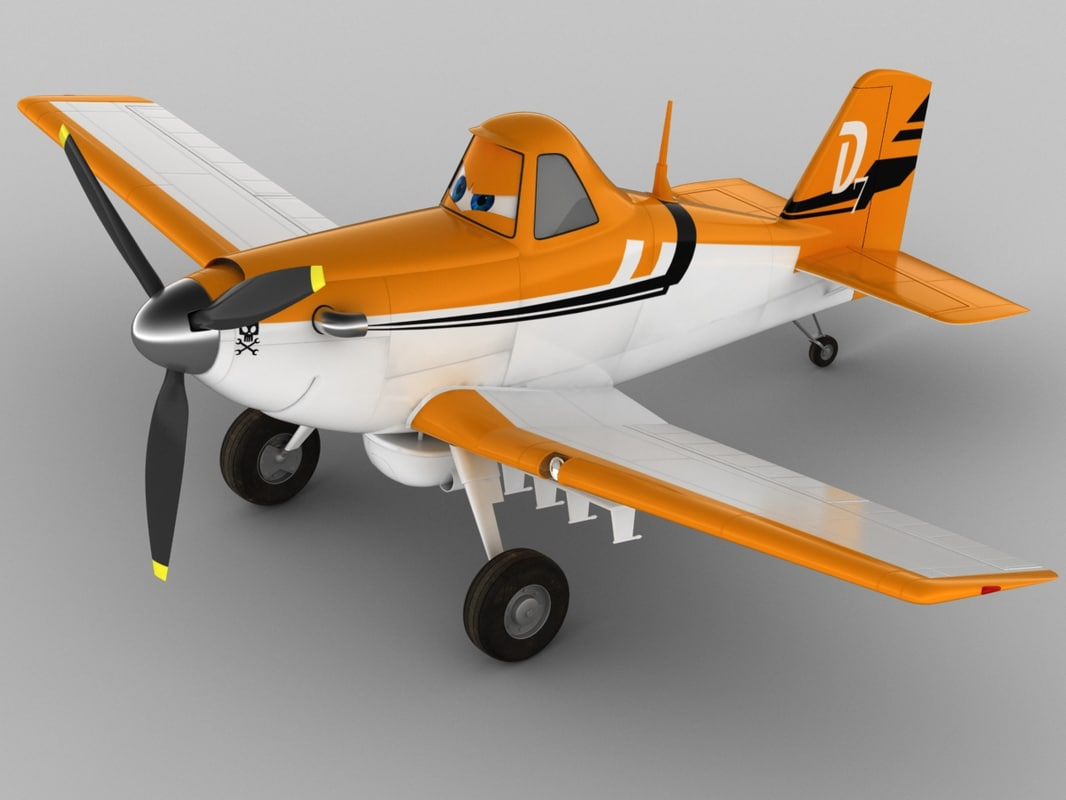 3d dusty crophopper planes model
