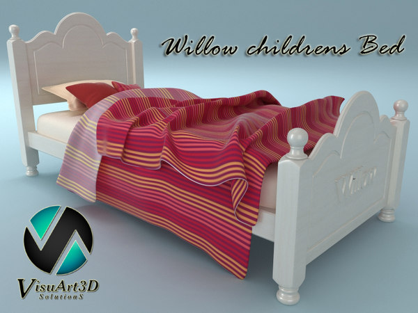 Willow Child Bed 3D Models