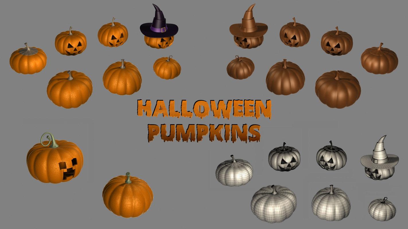 Halloween Pumpkin collection