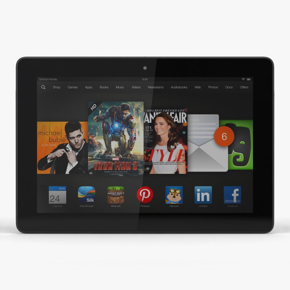 Amazon Kindle Fire HDX 8