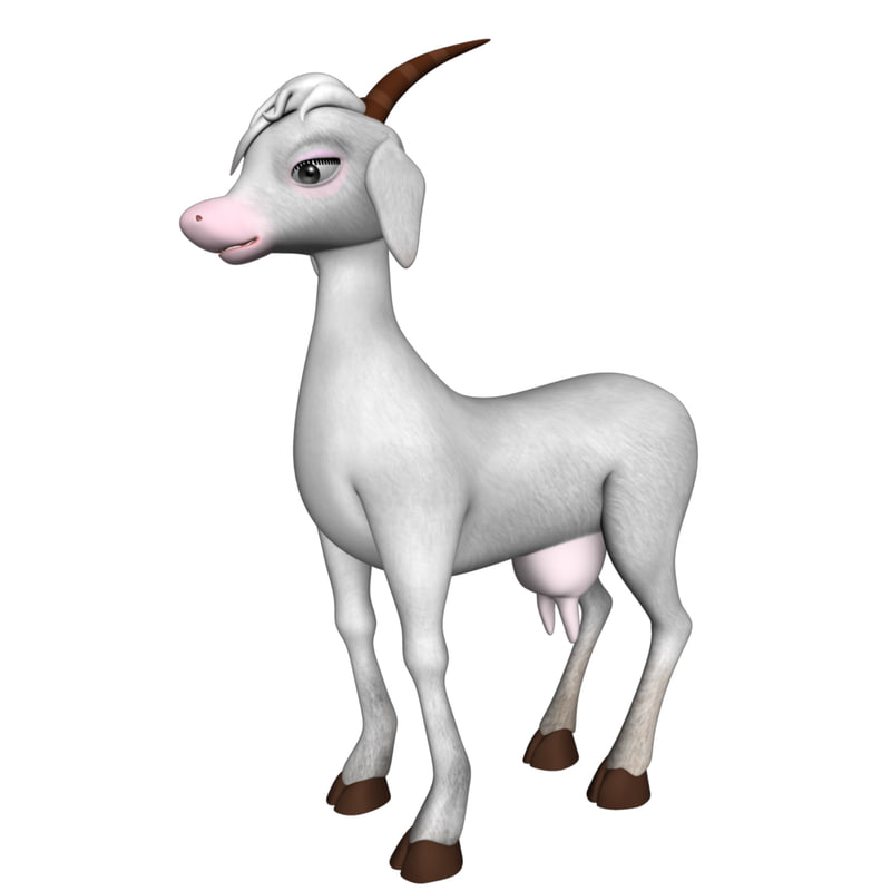 3d model of goat animation Goat Animation