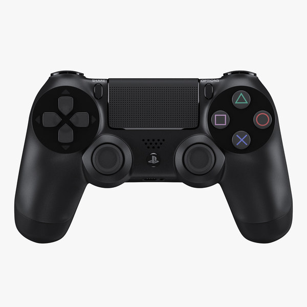 Sony Playstation 4 Controller 3D Models