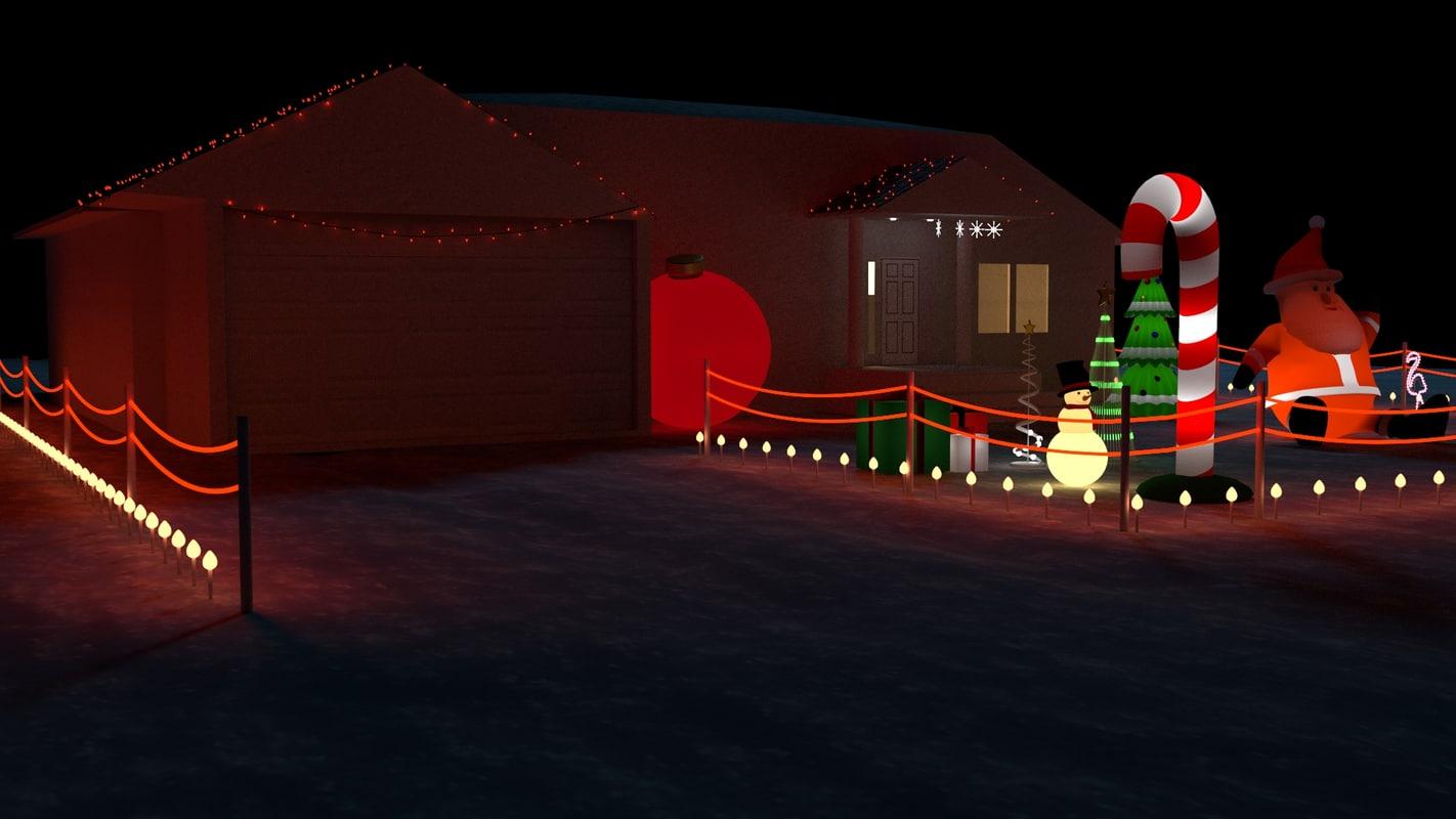Christmas house bundle