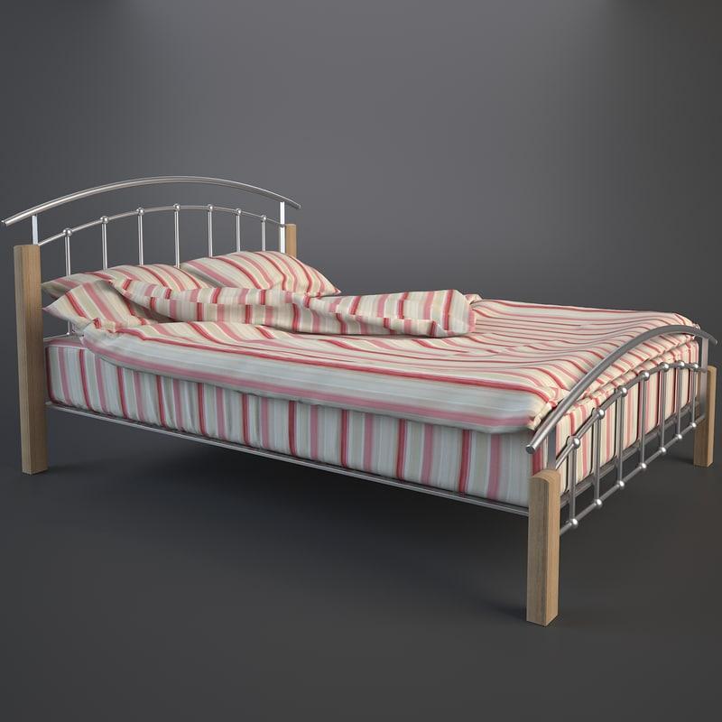 double bed folded duvet
