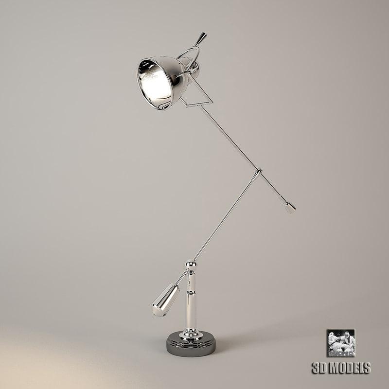 Lamp Table Fairfax Eichholtz