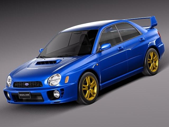 Subaru Impreza STi 2001