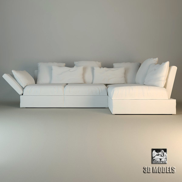 Sofa Flexform Sunny Stock Photography