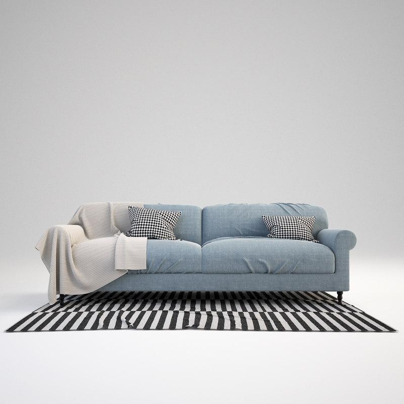 3ds max scandinavian sofa set for Sofa nordic