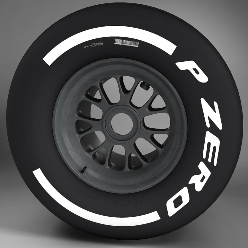 F1 tyre medium rear