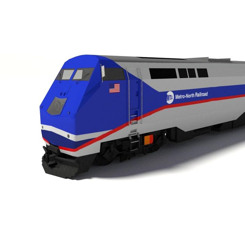 Maya Metro North Train Locomotive P32