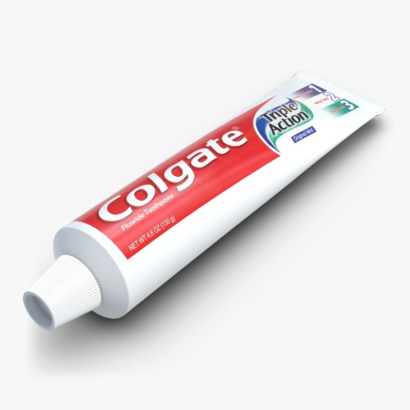 Stl Finder 3d Models For A Tube Of Toothpaste Max