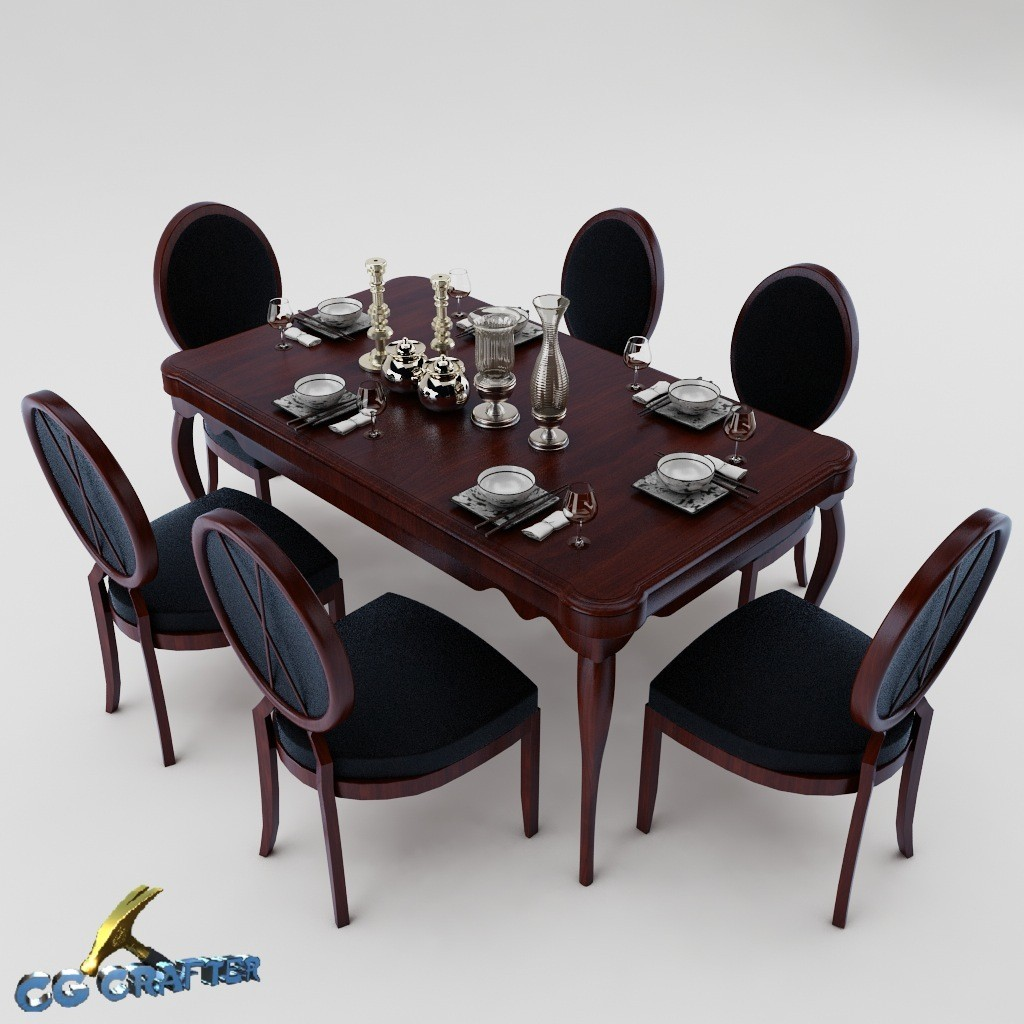 Dining table set 09