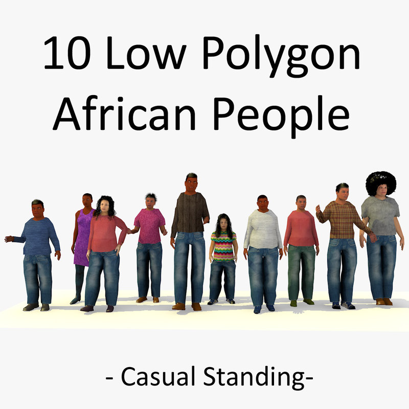 1 LOWPOLY AFRO PEOPLE STANDING COLLECTION.jpg
