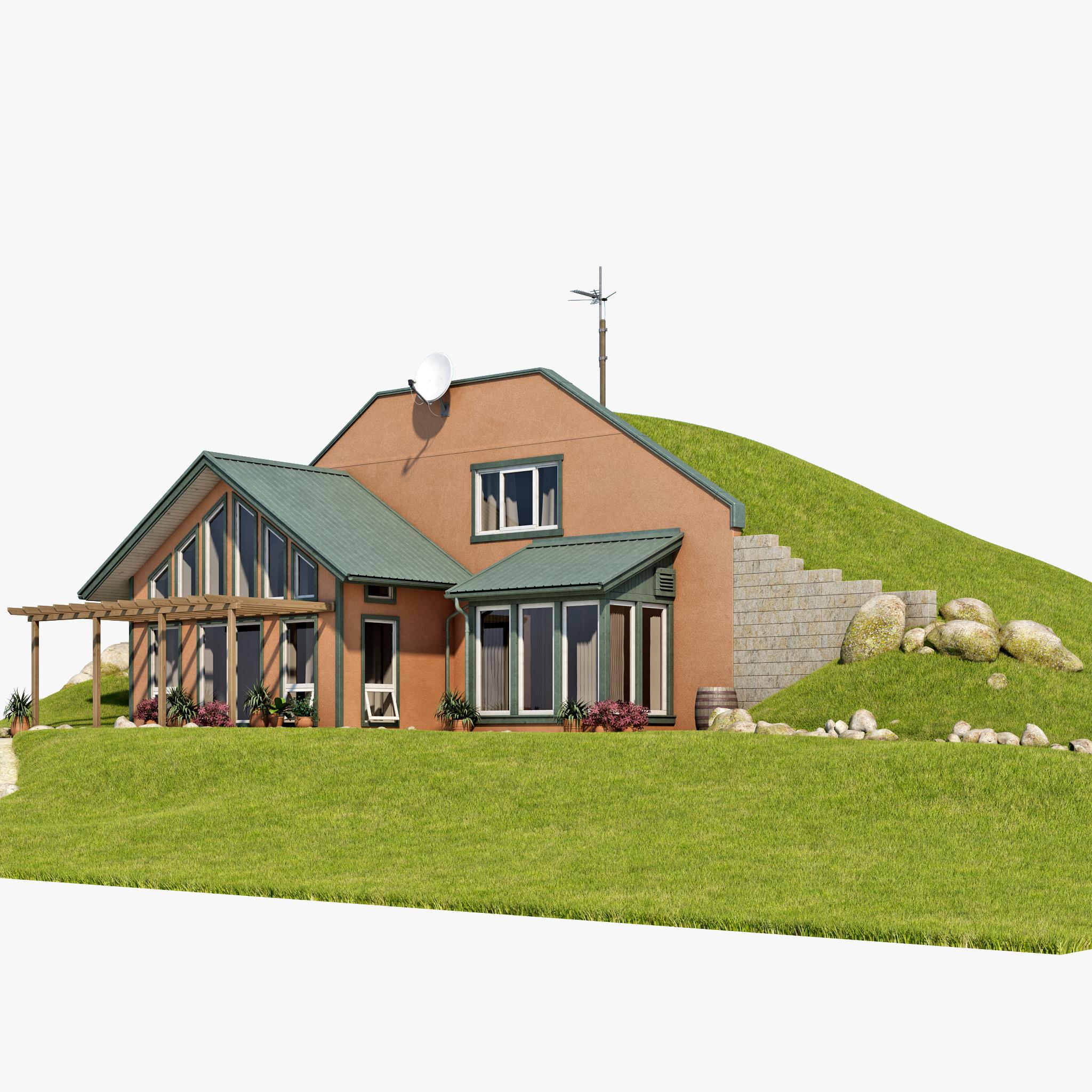 Earth Berm Cozy Homes Home Plans Joy Studio Design