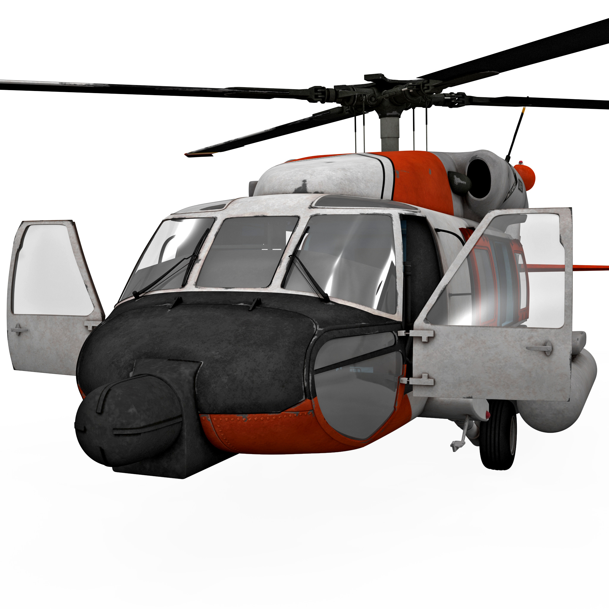 Sikorsky HH 60 JayHawk 2 Rigged