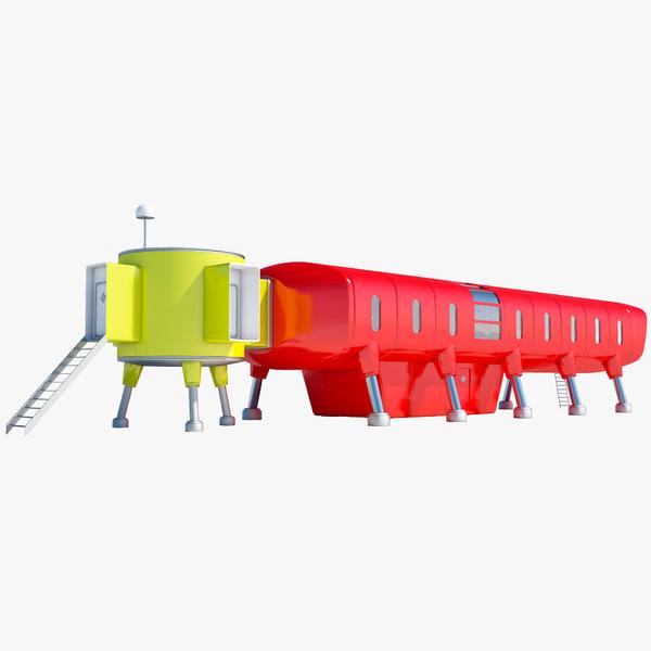 Antarctic Station Juan Carlos 3D Models