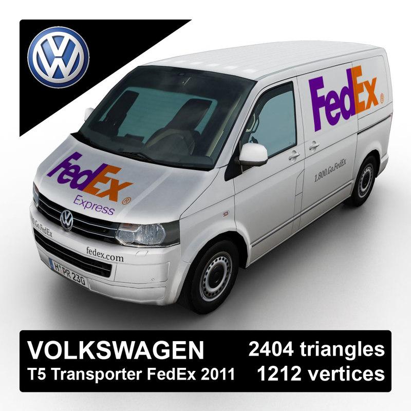 Volkswagen T5 Transporter FedEx 2011