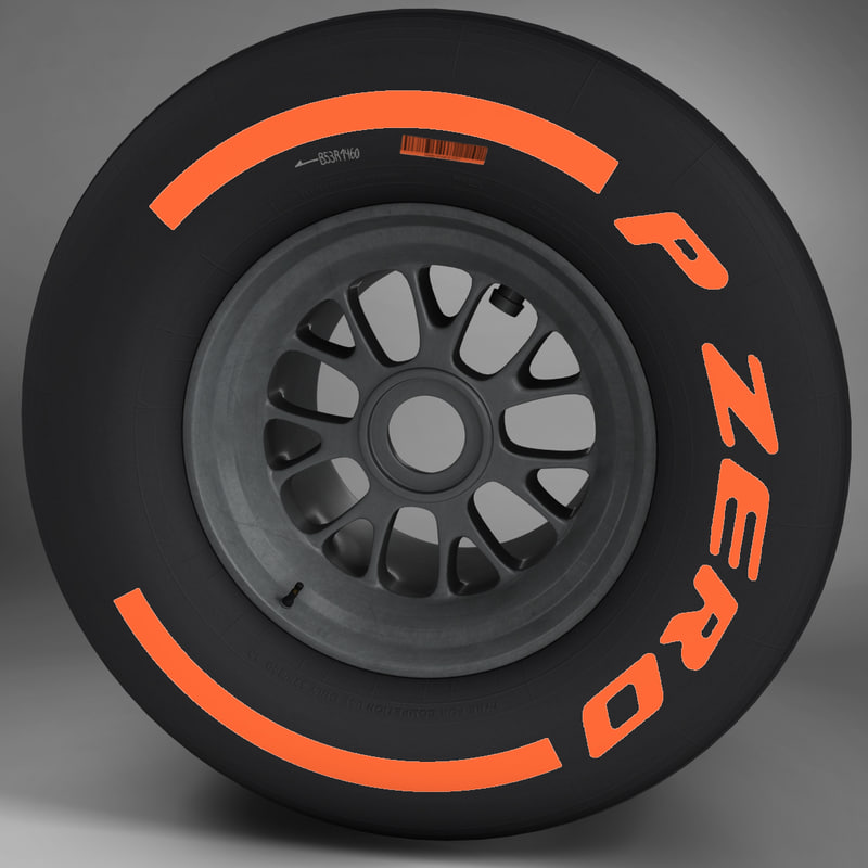 F1 tyre hard rear
