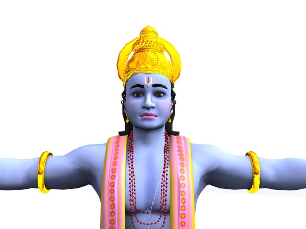 Lord Vishnu 3D Models