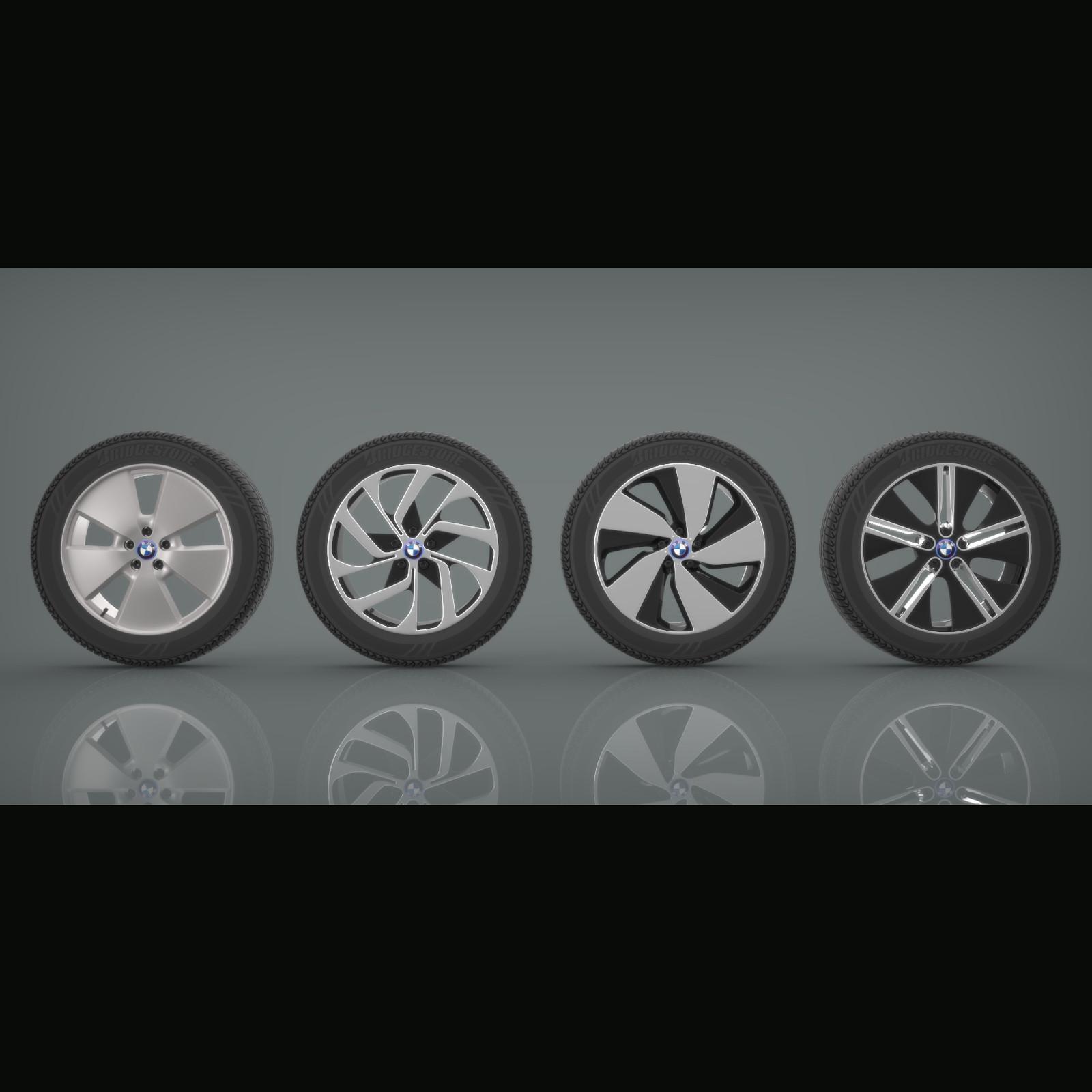 BMW i3 Rim Collection