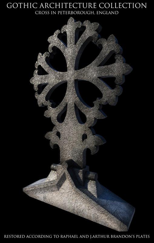 Gothic Peterborough Cross