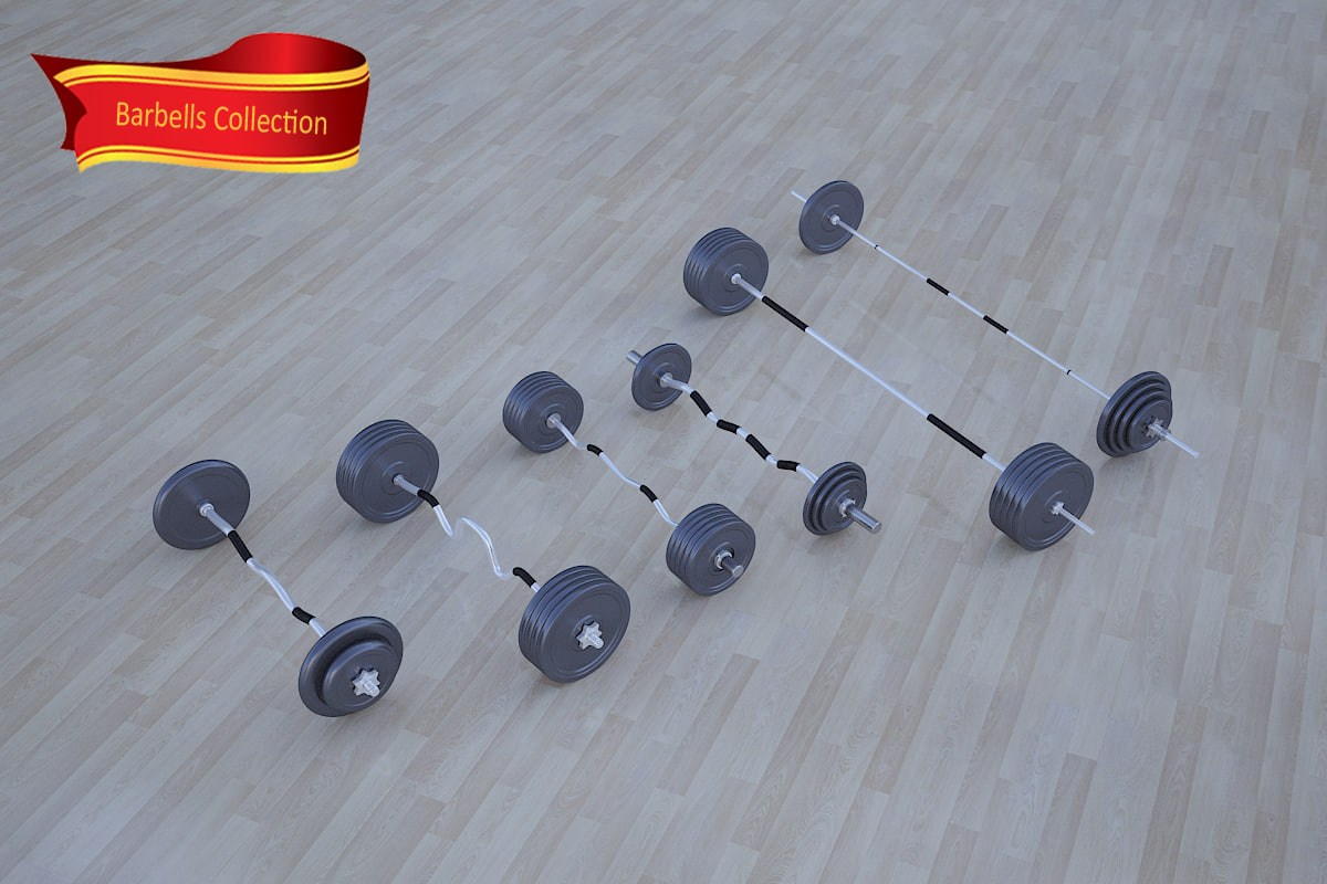 barbells collection