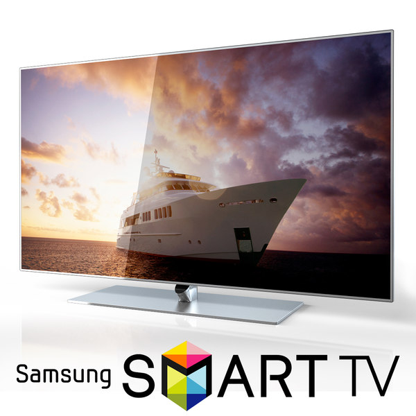Samsung 60 inch F7000 Smart Evolution 3D Full HD LED TV 3D Models